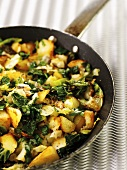 Bubble and squeak (Cabbage and potato dish, UK)
