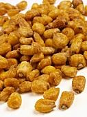 Roasted, salted corn kernels