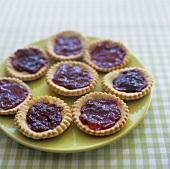 Wholemeal jam tarts