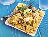 Kedgeree (Rice and fish dish, UK)