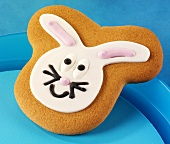 An Easter Bunny biscuit