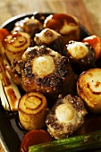 Braised oxtail and parsnips