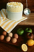 Apple and lemon souffle