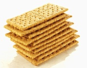 A stack of graham crackers
