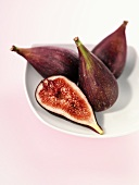 Three whole figs and half a fig
