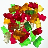 Gummi bears in assorted colours