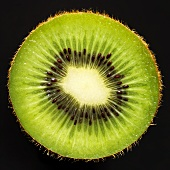 Half a kiwi fruit (close-up)