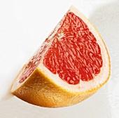 Eins Stück Grapefruit
