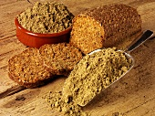 Hemp bread and hemp flour