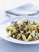 Pasta with lemon and sardines