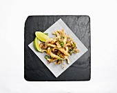 Deep-fried squid