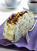 Nougat with pistachios