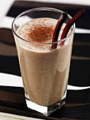 Coffee and coconut smoothie