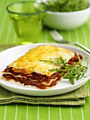Lasagne alla bolognese (Lasagne with bolognese sauce)