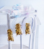 Home-made muesli bars to give as gifts