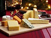 Festive cheese platter (Christmas)