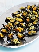Mussels with a herb marinade