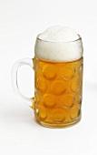 Oktoberfest beer in a tankard
