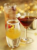 Three festive drinks