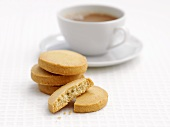 Shortbread and a cup of tea