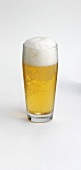 A glass of alcohol-free beer