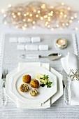 Deep-fried fish balls (Christmas)