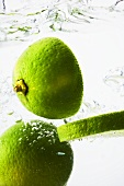 Limes in water