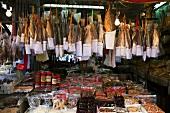 Market in Lantau, Hong Kong