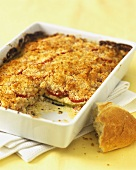 Tomato and pepper bake