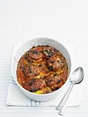 Tomato bake in baking dish