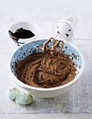 Chocolate cake mixture
