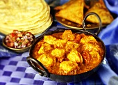 Chicken balti, India