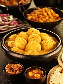 Kashmiri dum aloo (Kashmir-style potato curry), India