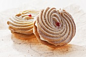 Viennese whirls (Scottish biscuits filled with cream)