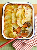 Hotpot - lamb and potato bake (England)