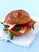 BLT sandwich (bacon, lettuce, tomato)