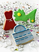Colorful cookies (purse, dress, shoe)