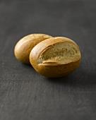 Two bread rolls
