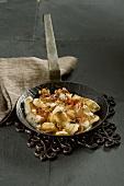 Pesce fritto (typical Italian dish using leftover fish)