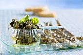 Caviale di melanzane (aubergine caviar)