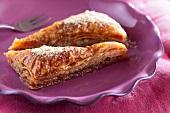 Almond baklava