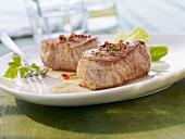 Pork fillets with pepper