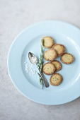 Rosemary sand cookies