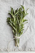 A bunch of rosemary