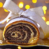 Christmas poppy seed roulade from Poland