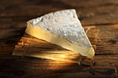 A slice of brie