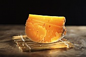 Mimolette, French hard cheese