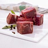 Blanquette de veau (Ragoutfleisch vom Kalb)