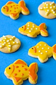 Fish-shaped cookies
