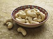 Cashewkerne im Schälchen